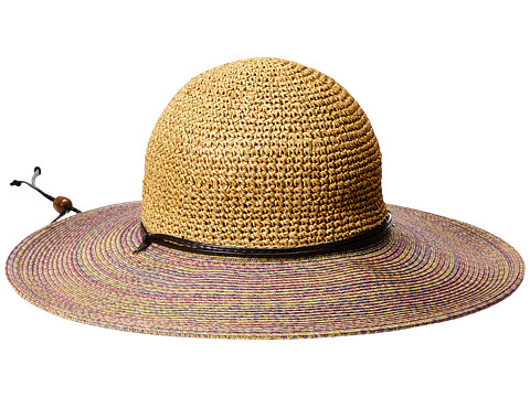 San Diego Hat Company UBL6483 4 Inch Brim Sun Hat with Adjustable Chin Cord - Lavender