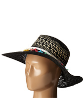 San Diego Hat Company - PBL3070 Open Weave Brim Sun Hat with Contrast Weave Details
