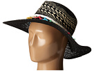 San Diego Hat Company PBL3070 Open Weave Brim Sun Hat with Contrast Weave Details