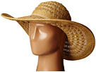 San Diego Hat Company PBL3029 Open Weave Floppy Sun Hat with Double Anchor Cord Trim