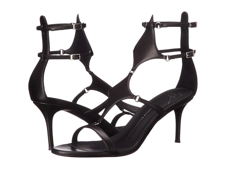 Giuseppe Zanotti Darlene Nappa Neropaco Womens Shoes