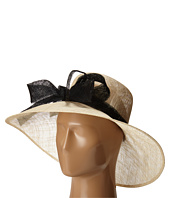 San Diego Hat Company - DRS1003 Straw Wide Brim Dress/Derby Hat with Oversized Bow