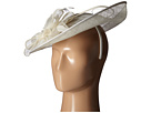 San Diego Hat Company DRS1008 Oversized Fascinator with Double Bow and Feathers