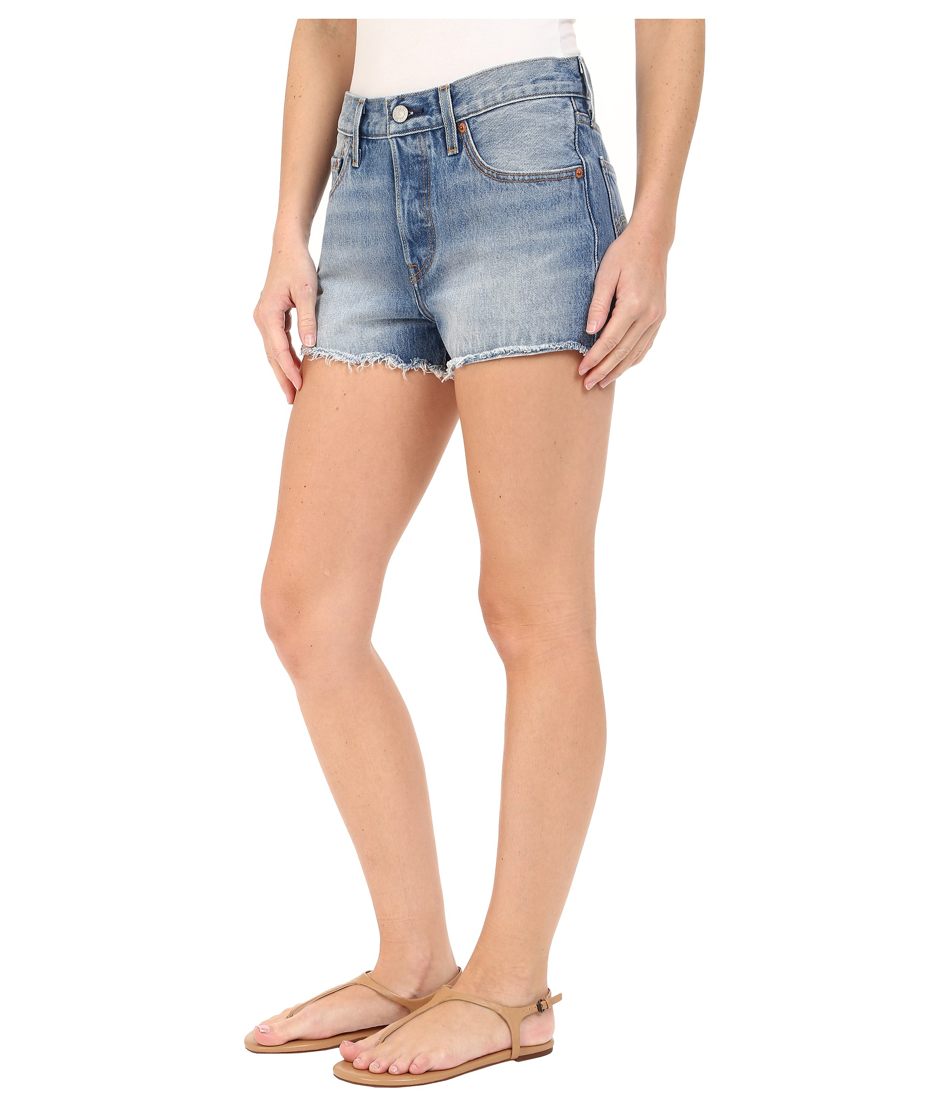 Levi 39 s womens 501 shorts at for Women s fishing shorts