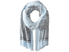 BSS1550 Lightweight Scarf with All Over Paisley Print