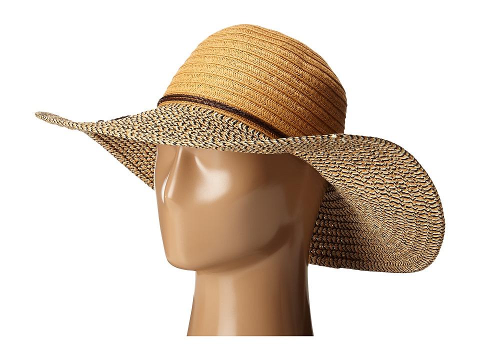 San Diego Hat Company - PBL3062 Solor Sun Brim Hat (Natural) Caps