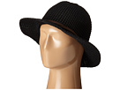 San Diego Hat Company KNH8009 Knit Fedora with Twisted Faux Suede Band