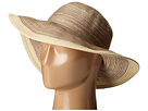 San Diego Hat Company MXM1016 Sun Brim Hat with Self Tie and Contrast Edge