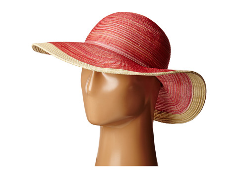 San Diego Hat Company MXM1016 Sun Brim Hat with Self Tie and Contrast Edge - Red