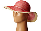 San Diego Hat Company San Diego Hat Company MXM1016 Sun Brim Hat with Self Tie and Contrast Edge