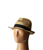 San Diego Hat Company - SGF2013 Seagrass Fedora with Grossgrain Trim