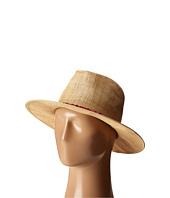 San Diego Hat Company - RHF6116 Raffia Panama Fedora w/ Turquoise Beads