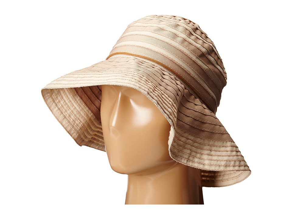 San Diego Hat Company - RBM4774 Suede Tie Floppy (Tan) Traditional Hats