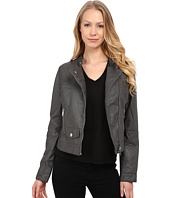 dollhouse - PU Jacket w/ Quilted Detail