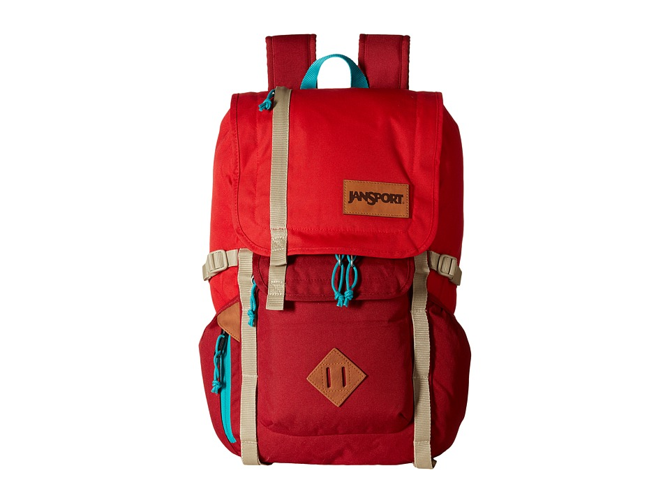 JanSport Hatchet Backpack Red Tape Backpack Bags