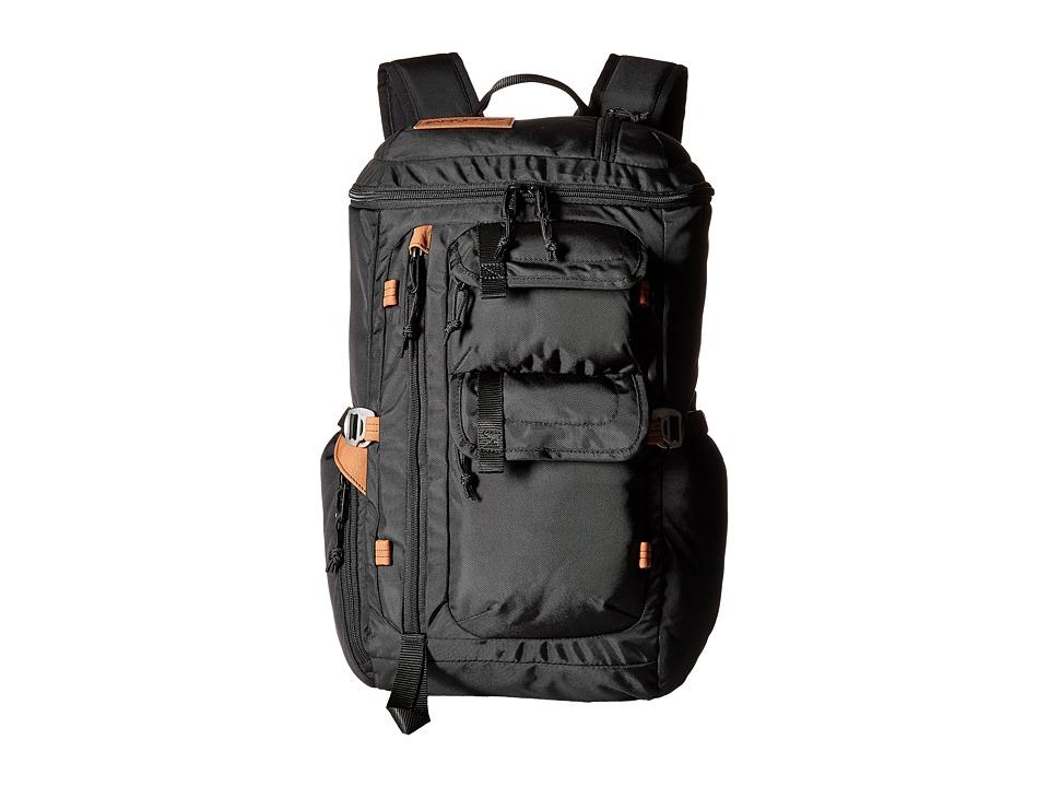 JanSport Watchtower Black Ballistic Nylon Backpack Bags