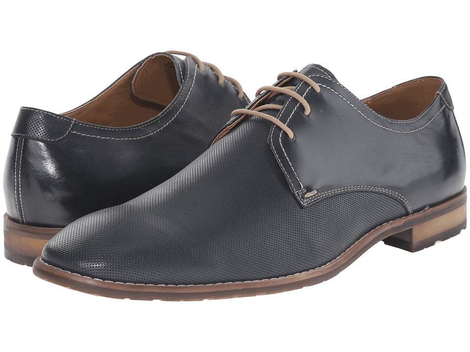 Steve Madden - Ebnerr1 (Extended Sizes) (Navy Leather) Men