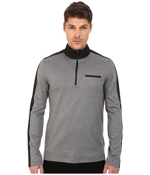 Michael Kors Nylon Trim 1/2 Zip Pullover
