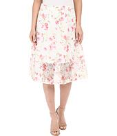 kensie - Floral Organza Skirt KS5K6224