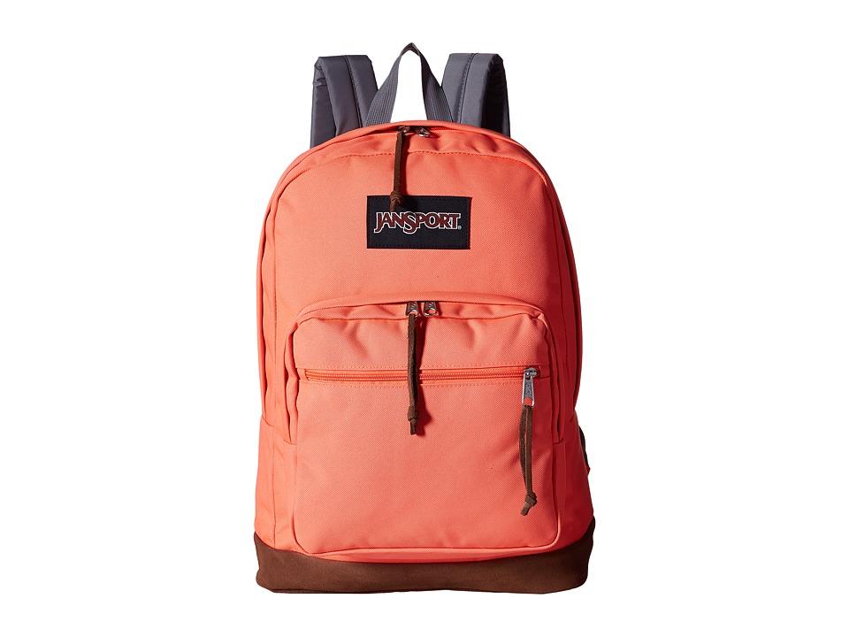 JanSport - Right Pack (Tahitian Orange) Backpack Bags