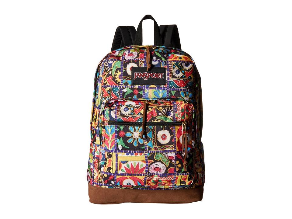JanSport Right Pack World Multi Banjara Jewel Backpack Bags