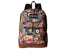 JanSport Right Pack World (Multi Banjara Jewel)
