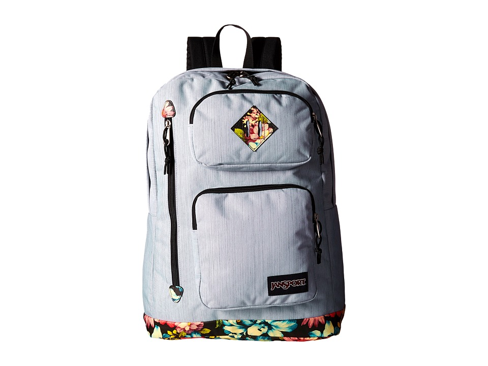JanSport Houston Multi Garden Delight Backpack Bags