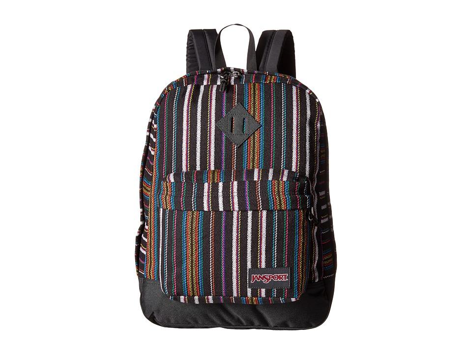 JanSport Super FX Multi Surf Stripe Backpack Bags