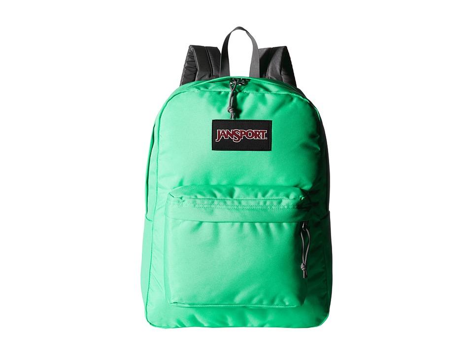 JanSport Black Label SuperBreak Seafoam Green Backpack Bags