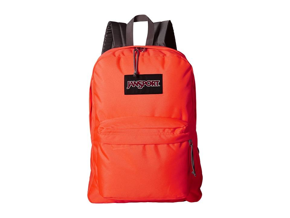 JanSport Black Label SuperBreak Tahitian Orange Backpack Bags