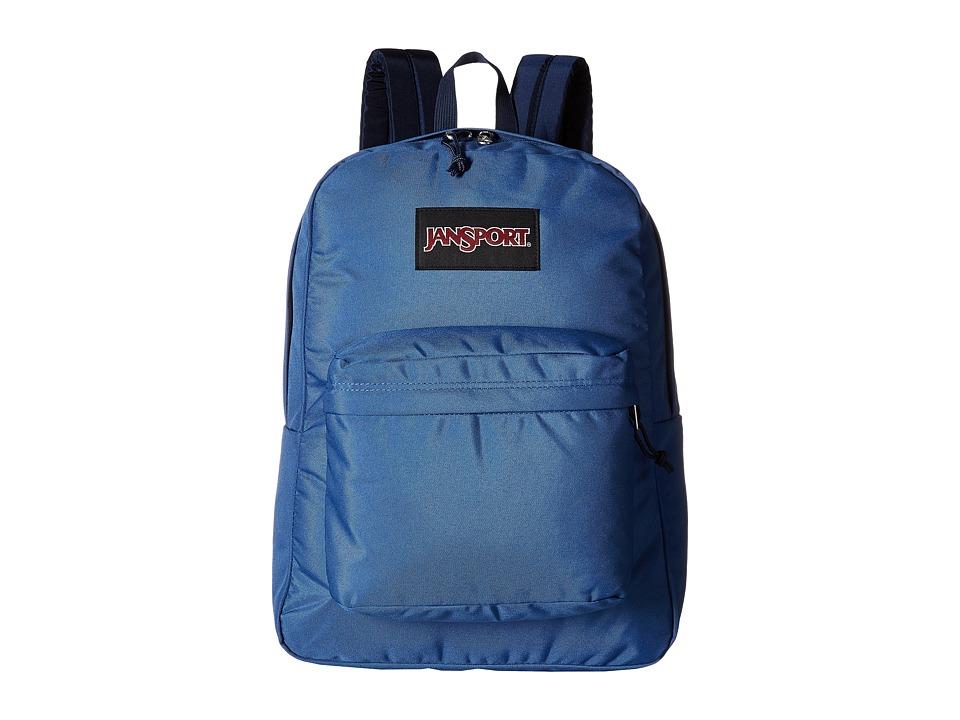 JanSport Black Label SuperBreak Turkish Ocean Backpack Bags