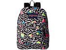 JanSport SuperBreak (Black/White Bebop)