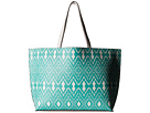 Echo Design Ikat Essex Reversible Tote (Caribbean Blue/White)