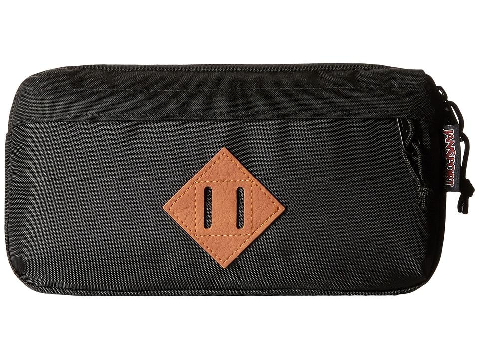 JanSport - The Waisted (Black Ballistic Nylon) Bags