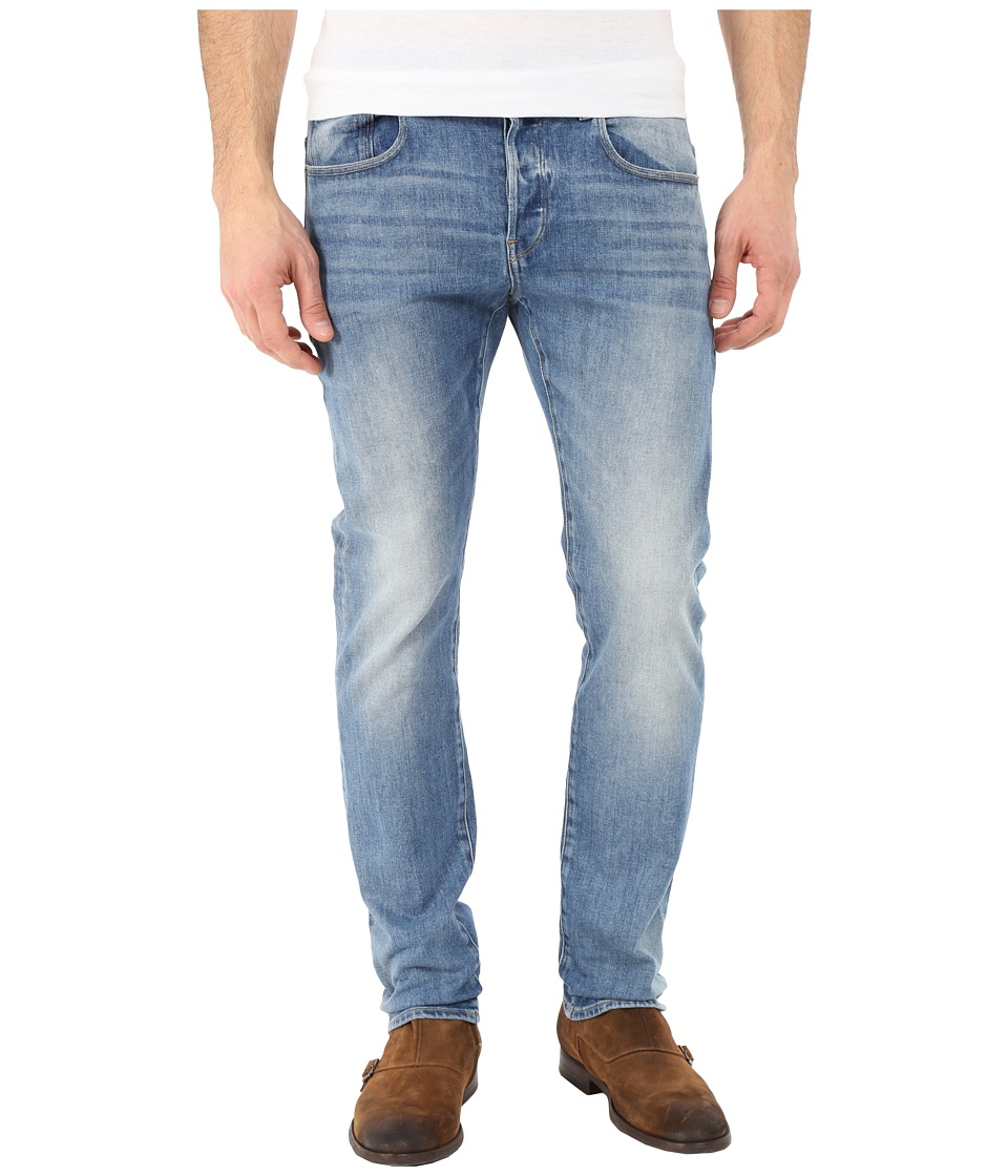 G Star 3301 Slim in Humber Stretch Denim Light Aged Humber Stretch Denim Light Aged Mens Jeans