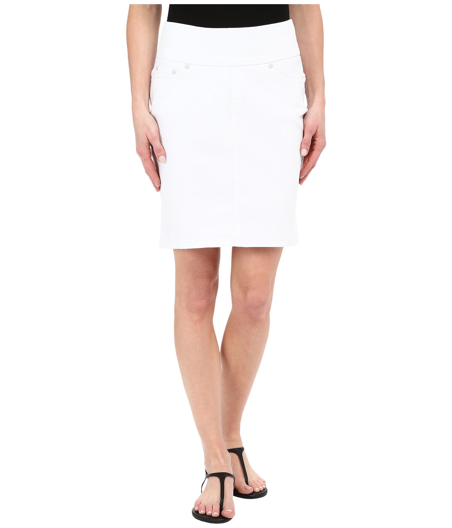 jag ingram skirt in white denim zappos free