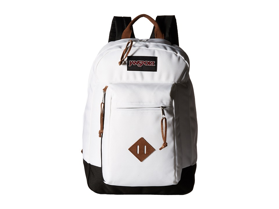 JanSport Reilly White Backpack Bags