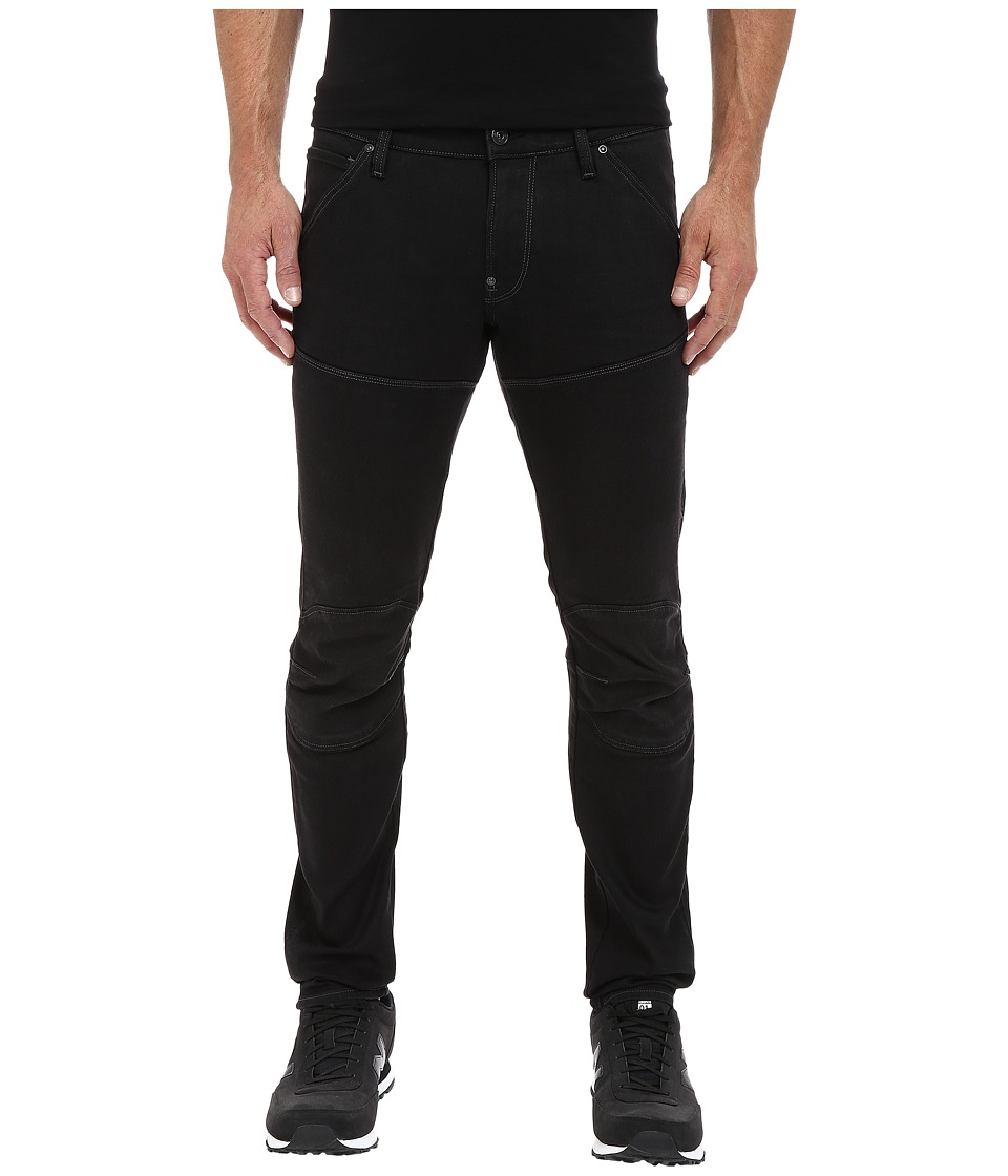G Star 5620 3D Super Slim in Slander Black Superstretch Dark Aged Slander Black Superstretch Dark Aged Mens Jeans