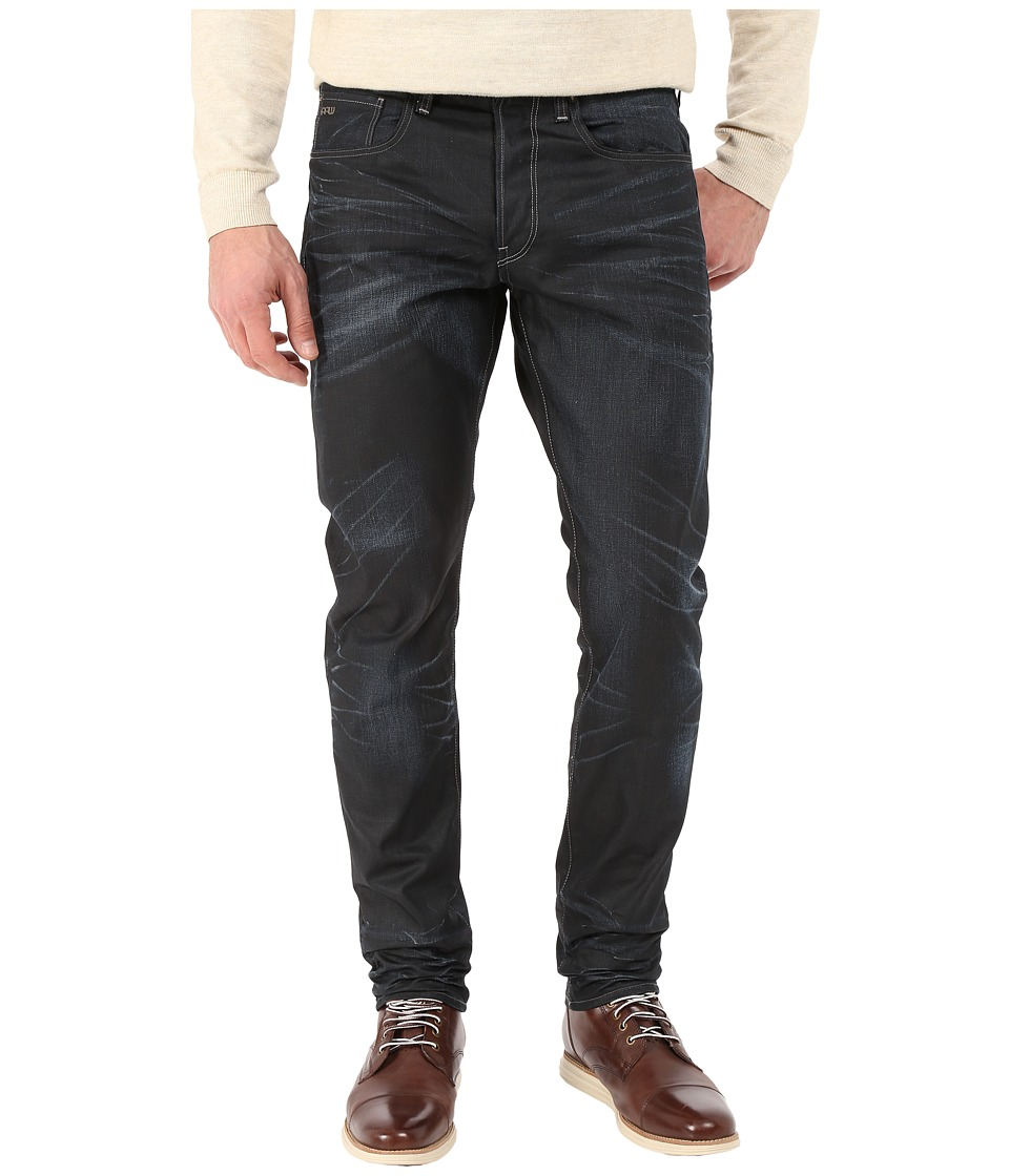 G Star 3301 Tapered in Condor Denim Dark Aged Condor Denim Dark Aged Mens Jeans