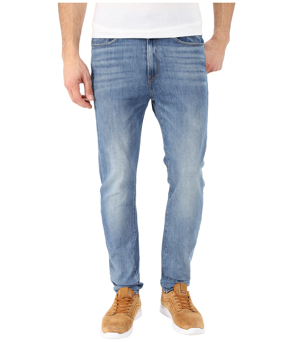 G Star Type C 3D Super Slim in Humber Stretch Denim Light Aged Humber Stretch Denim Light Aged Mens Jeans