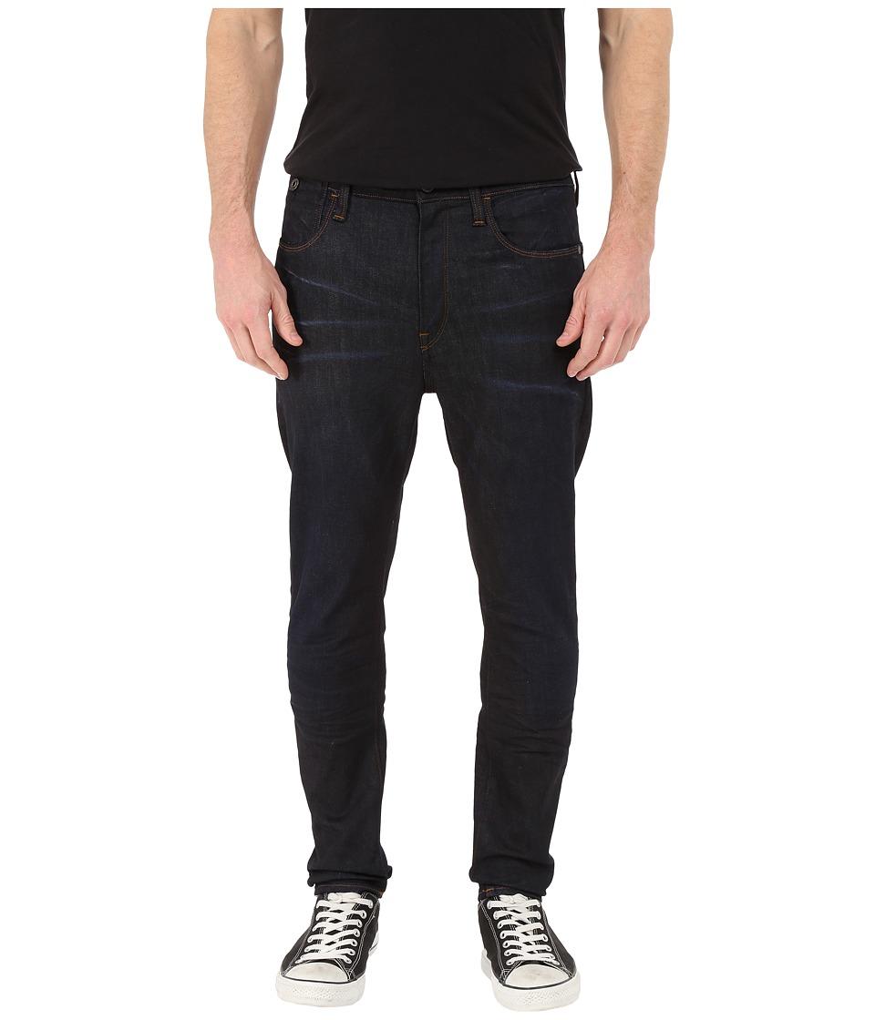 G Star Type C 3D Super Slim in Visor Stretch Denim Dark Aged Visor Stretch Denim Dark Aged Mens Jeans