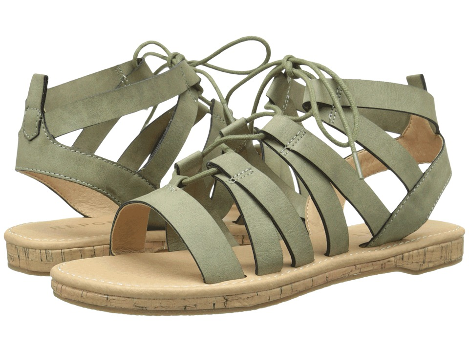 Report Freedom Green Womens Shoes