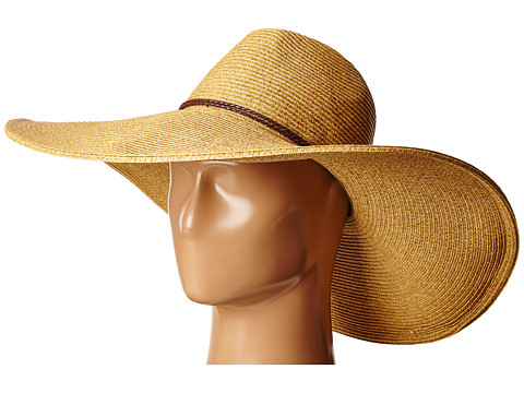 San Diego Hat Company UBX2722 Pinched Crown Floppy Sun Hat - Natural