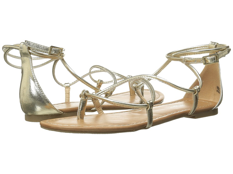 Report Grimes Gold Womens Shoes