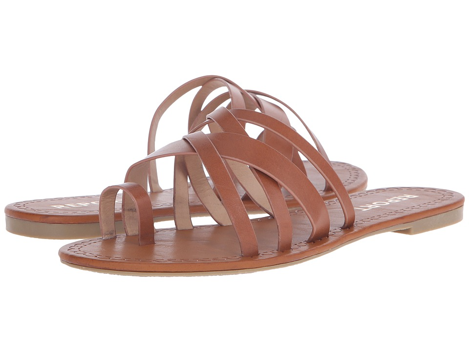 Report Gyselle Cognac Womens Shoes