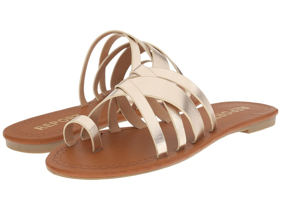 Report Gyselle Gold Womens Shoes