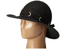 San Diego Hat Company PBM1029 Crochet Floppy Hat with Grommets