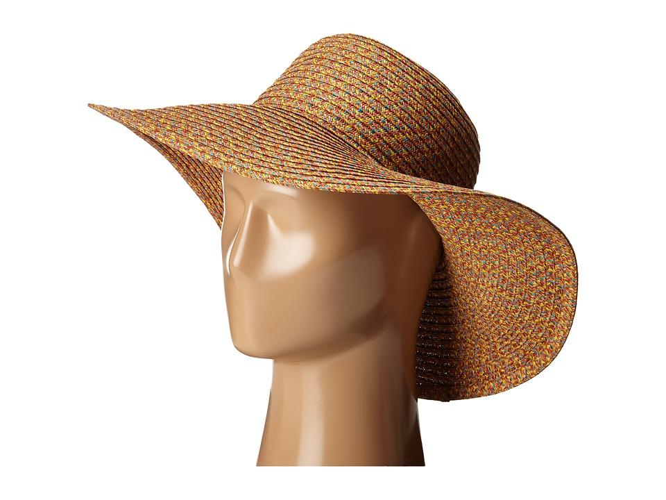 San Diego Hat Company - PBL3061 Round Crown Sun Brim Hat (Bright Mix) Caps