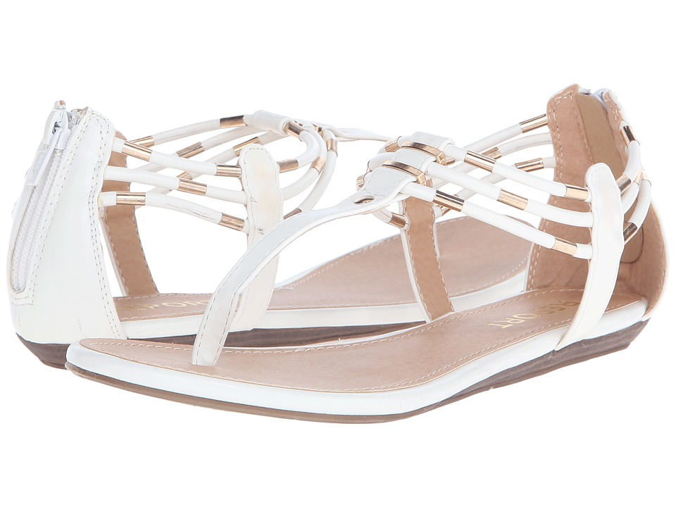 Report Lavell White Womens Shoes