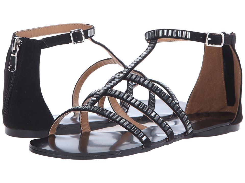 Report Scott Black Womens Shoes